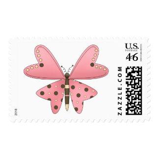 Lindo como insecto · Rosa y mariposa de Brown