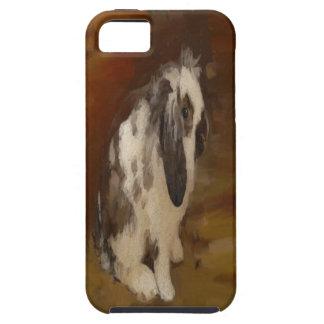 Lindo, conejo espigado del Lop del bebé iPhone 5 Fundas