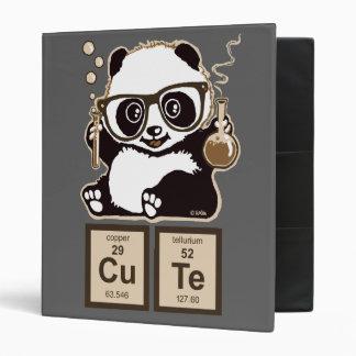 "Lindo descubierta panda de la química carpeta 1"""
