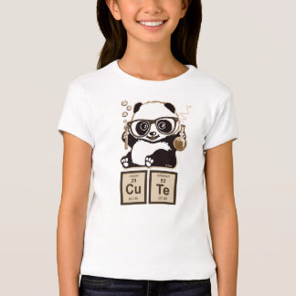 Lindo descubierta panda de la química playera