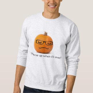 Lindo, durmiendo, camisa calva, Geeky de los