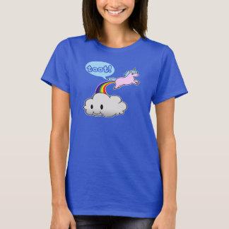 ¡Lindo! El unicornio Fart… ¡Toque de bocina! Playera