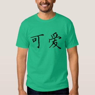 Lindo en chino playera