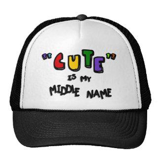 """""""Lindo"""" es mi nombre medio--Multicolor con las Gorro De Camionero"""