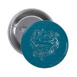 Lindo estupendo de la mosca estupenda de Supergirl Pins