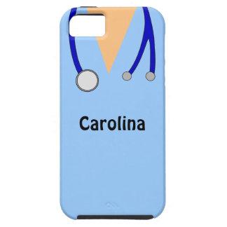 Lindo friega la cubierta médica personalizada del iPhone 5 fundas