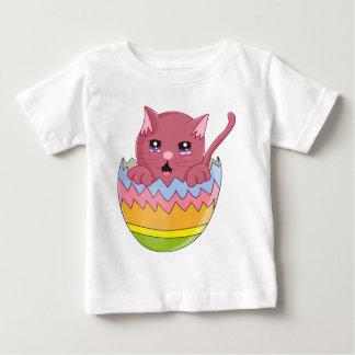 Lindo Gatito color Rosa Baby T-Shirt
