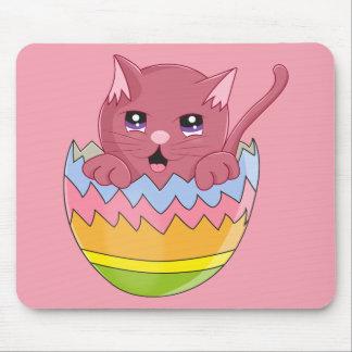 Lindo Gatito color Rosa Mouse Pad