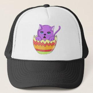 Lindo Gatito color Violeta Trucker Hat