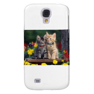 Lindo-Gatito Funda Para Galaxy S4