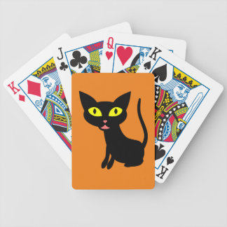 Lindo, gato negro de Halloween Barajas