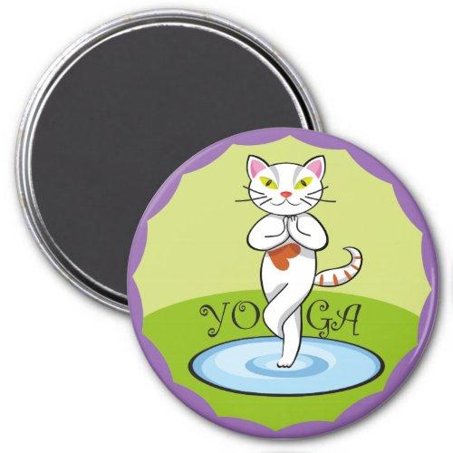 Lindo gato yoga
