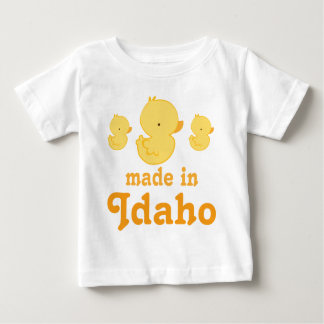 Lindo hecho en regalo de la camiseta del bebé de