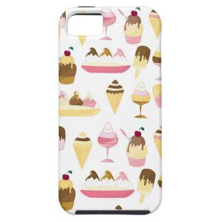 Lindo helado la caja del iphone del modelo iPhone 5 carcasas