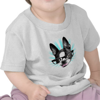 ¡Lindo! Inconformista Boston Terrier Camiseta