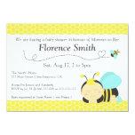 Lindo manosee el tema de la abeja, fiesta de invitaciones personales