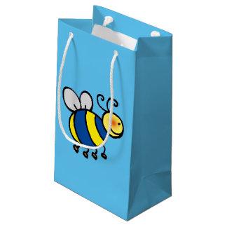 lindo manosee la abeja bolsa de regalo pequeña