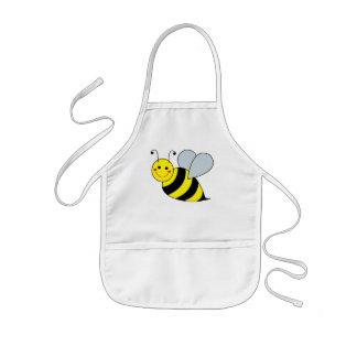 Lindo manosee la abeja delantal