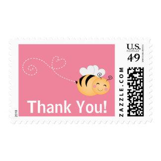 Lindo manosee la abeja le agradecen franqueo de la