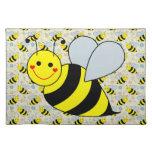 Lindo manosee la abeja manteles