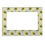 Lindo manosee la abeja marcos magneticos de fotos