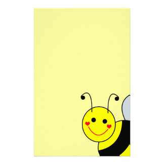Lindo manosee la abeja papeleria de diseño