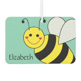Lindo manosee la abeja personalizada