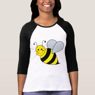 Lindo manosee la abeja playera