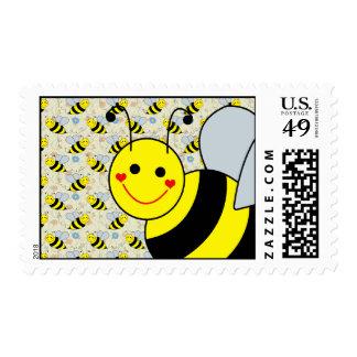 Lindo manosee la abeja envio
