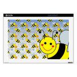 Lindo manosee la abeja skins para portátil