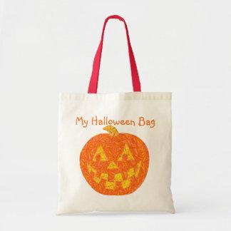 Lindo mi bolso de Halloween recicla el tote del ca Bolsa De Mano
