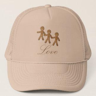 Lindo Muñeco de jengibre Trucker Hat