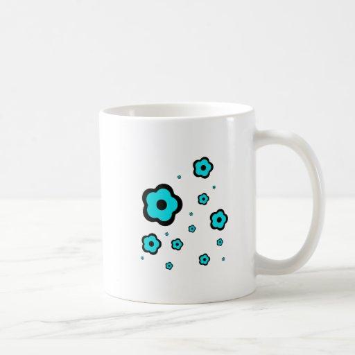 lindo-pequeño-flor-ciánico taza