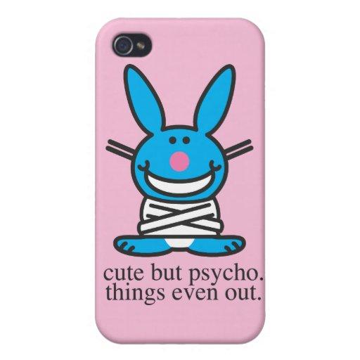 Lindo pero psico iPhone 4 carcasa