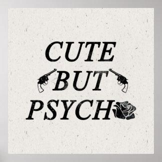 Lindo pero psico póster