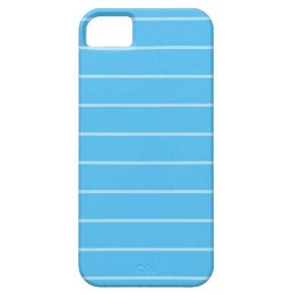 Lindo textura con lineas  celestes par a tu iPhone iPhone SE/5/5s Case