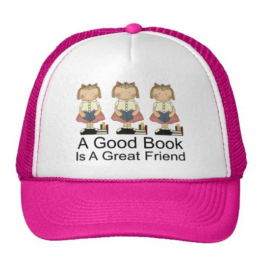 Lindo un buen libro es una gran camiseta del amigo gorro de camionero