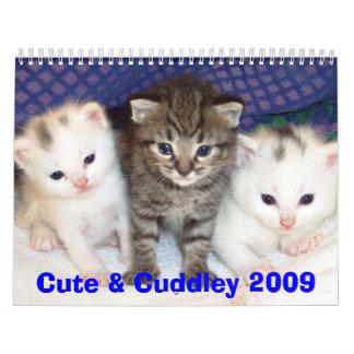 Lindo y Cuddley 2009 Calendarios De Pared