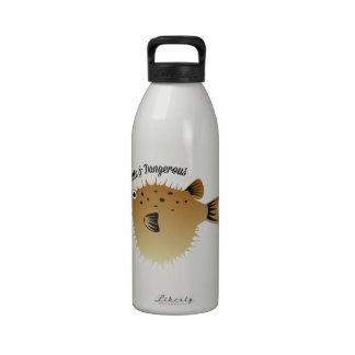 Lindo y peligroso botella de beber