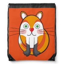 Lindo zorro, fox. drawstring bag