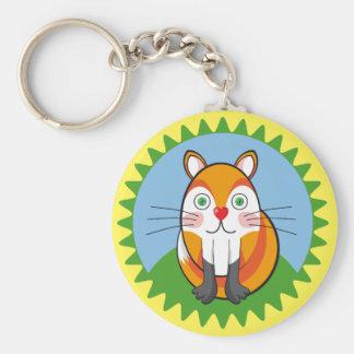 Lindo zorro, fox. keychain