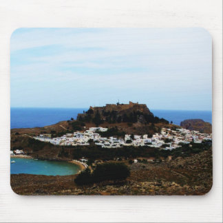 Lindos, Rhodes, Greece Mouse Pad