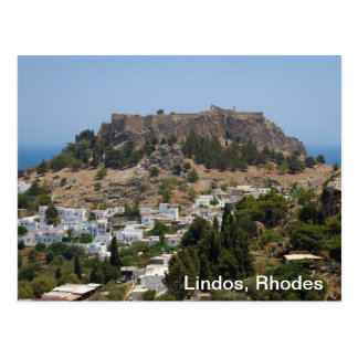 Lindos, Rhodes Post Card