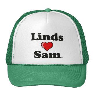 """Linds (heart) Sam"" Hat"
