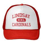 Lindsay - Cardinals - High - Lindsay California Trucker Hat