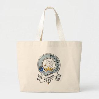 Lindsay Clan Badge Tote Bag