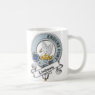 Lindsay Clan Badge Coffee Mug