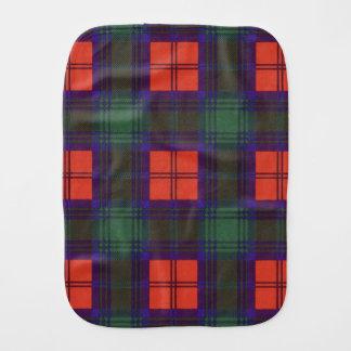 Lindsay clan Plaid Scottish tartan Baby Burp Cloth