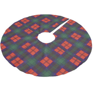Lindsay clan Plaid Scottish tartan Brushed Polyester Tree Skirt