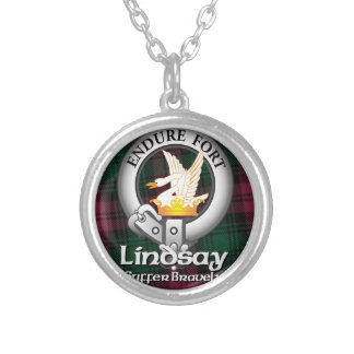Lindsay Clan Silver Plated Necklace